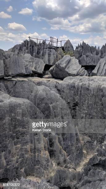 Sharp Limestone Formations