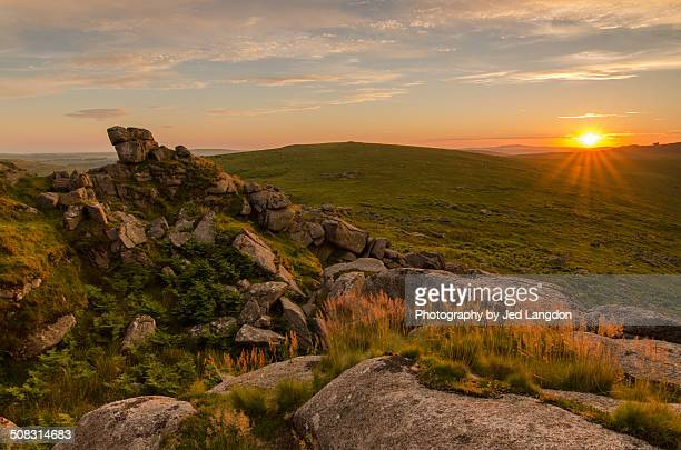 Sharp Tor sunset