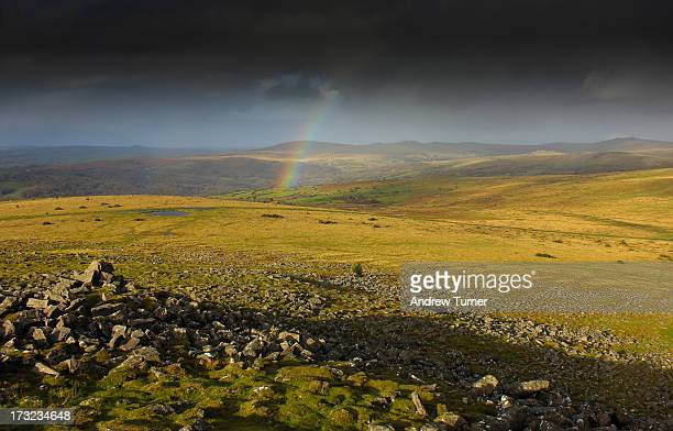 Sharpitor is a great place to watch the showers rolling in across Dartmoor. On this occasion, the showers were blowing from the north, and with the...