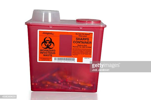 sharps container - container stock pictures, royalty-free photos & images