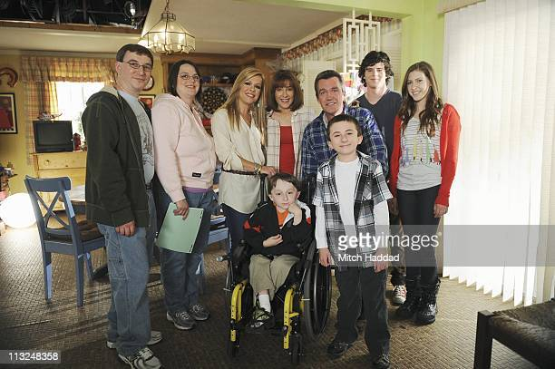 EDITION Sharrock Family Patrick and his parents Cindy and Michael were flown to Hollywood so that he could meet his own personal hero the young actor...