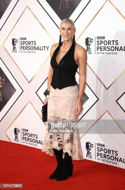 Sharron Davies attends the 2018 BBC Sports Personality Of The Year at The Vox Conference Centre on December 16, 2018 in Birmingham, England.