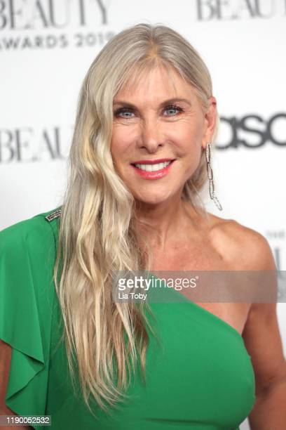 Sharron Davies attends The Beauty Awards 2019 on November 25 2019 in London England