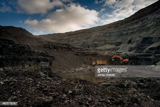 Sharyn Gol coal mine has been operating for nearly half a century and has continually exported fossil fuels for the growth of the Mongolian economy...