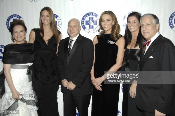 Sharyn Mann Stephanie Winston Wolkoff Tom Colicchio Julia Koch Mary Kennedy and Todd Slotkin attend The 13th Annual FOOD ALLERGY Ball at The Waldorf...