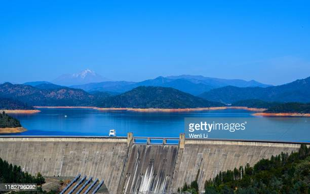 shasta dam - reservoir stock pictures, royalty-free photos & images