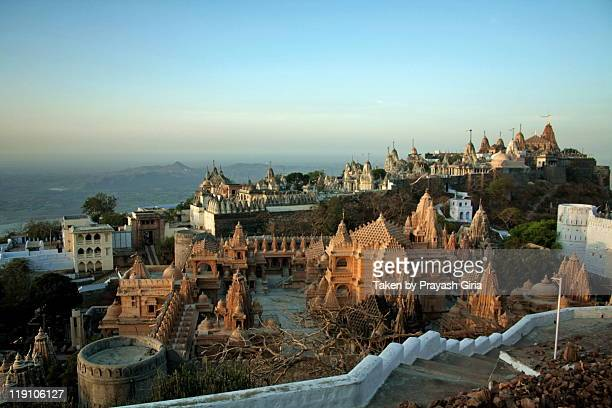 shatrunjay - palitana stock photos and pictures