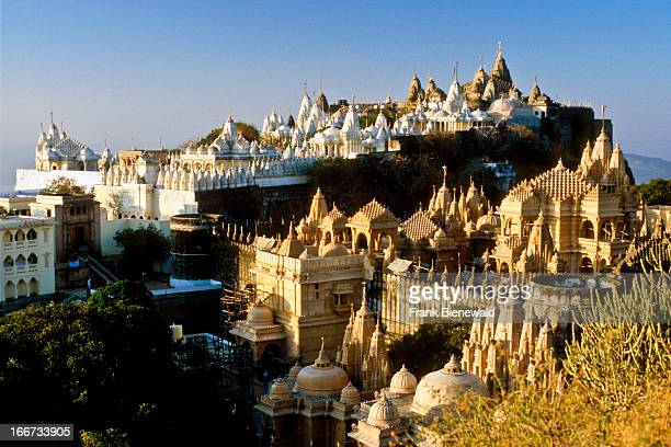 Shatrunjaya Indias most holy place for Jains with more than 850 temples on a hilltop