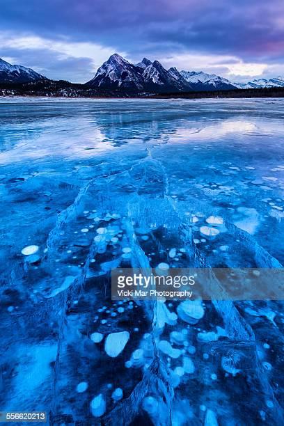 Shattered   Abraham Lake, Canadian Rockies