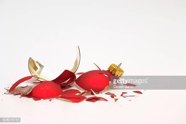 Shattered Christmas Bulb