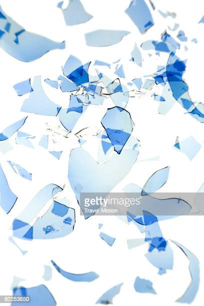 Shattered glass background