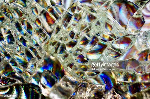 Shattered Glass on Holographic Foil