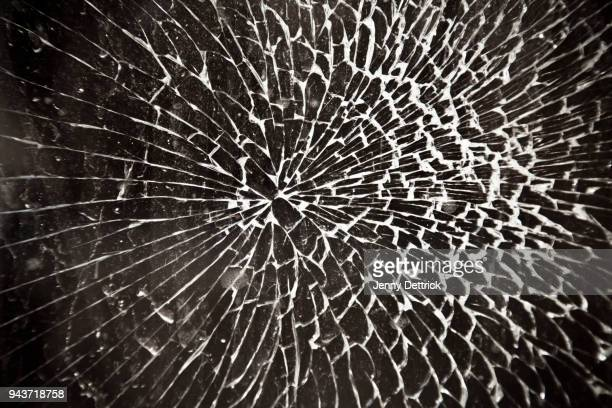 shattered glass - shattered glass stock pictures, royalty-free photos & images