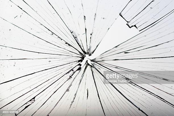 Shattered window on December 03 in Berlin Germany Photo by Thomas Trutschel/Photothek via Getty Images