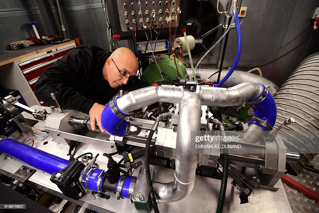 Shaul Yakobi, Inventor and Co-Founder of Aquarius Engines, poses for ...