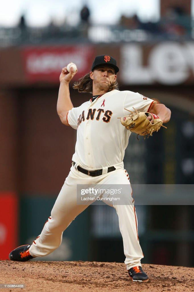 CA: Atlanta Braves v San Francisco Giants