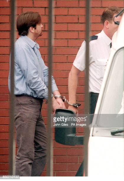 Shaun Armstrong is led away from Hartlepool Magistrates Court where he is on trial charged with the 1994 murder of three yearold Rosie Palmer in...