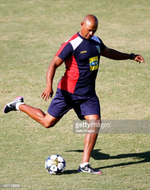 Shaun Bartlett during the Absa Premiership match between Golden Arrows and SuperSport United at Princess Magogo Stadium on April 28, 2013 in Durban,...