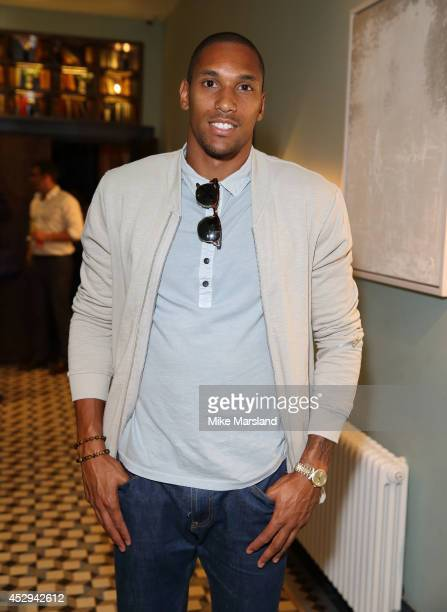 Shaun Batt attends the Give Me Sport magazine launch party at Library on July 30 2014 in London England