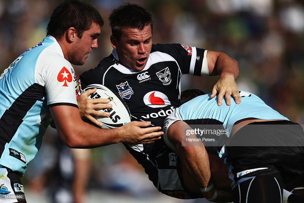 NRL Rd 4 - Sharks v Warriors