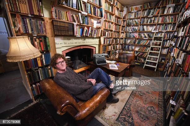 Shaun Bythell owner of The Book Shop poses for a portrait inside the largest second hand store in the country on November 9 2017 in WigtownScotland...