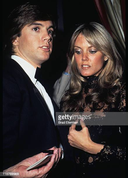 Shaun Cassidy and Ann Pennington at a party in Los Angeles California **EXCLUSIVE**