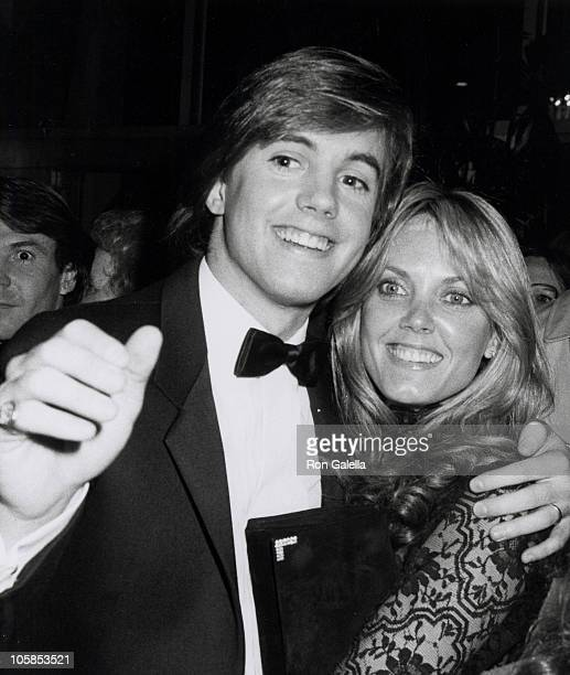 Shaun Cassidy and Ann Pennington during 37th Annual Golden Globe Awards at Beverly Hilton Hotel in Beverly Hills California United States