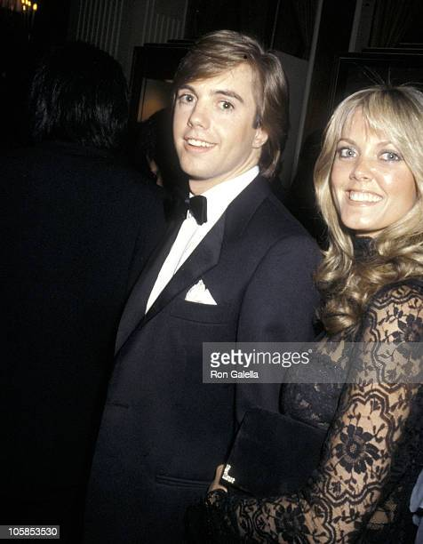 Shaun Cassidy and Wife Ann Pennington during 37th Annual Golden Globe Awards at Beverly Hilton Hotel in Beverly Hills California United States