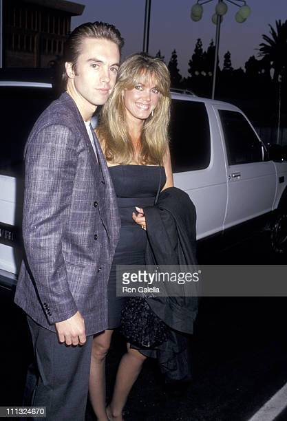 Shaun Cassidy and Wife Ann Pennington during ABC Network AllStar Party June 11 1987 at Century Plaza Hotel in Century City California United States