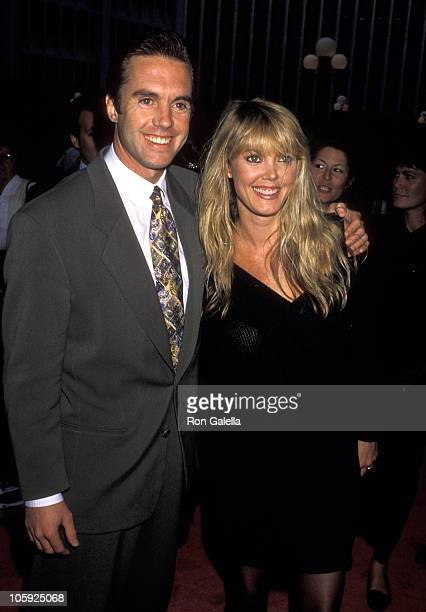 Shaun Cassidy and wife Ann Pennington during 'Longtime Companion' Los Angeles Screening at Cineplex Odeon Cinema in Los Angeles California United...