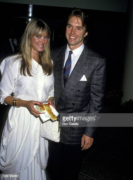 Shaun Cassidy and Wife Ann Pennington during Opening Night Performance of 'She Loves You' at Dorothy Chandler Pavilion in Los Angeles California...