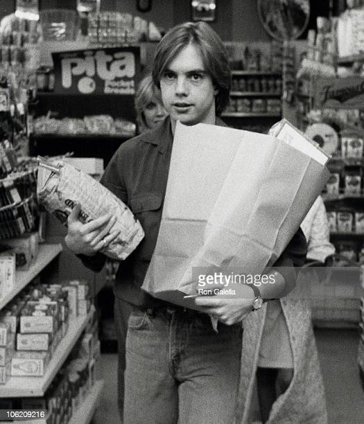 Shaun Cassidy during Shaun Cassidy Sighted in Bel Air Convenience Store at Bel Air Convenience Store in Bel Air California United States
