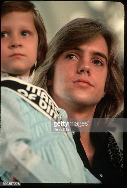 Shaun Cassidy with March of Dimes Girl