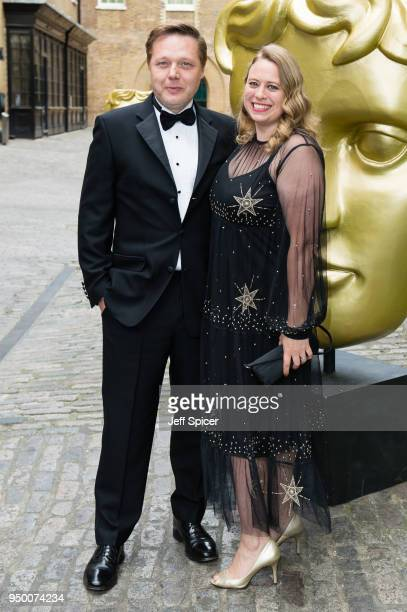 Shaun Dooley and Polly Cameron attend the BAFTA Craft Awards held at The Brewery on April 22 2018 in London England