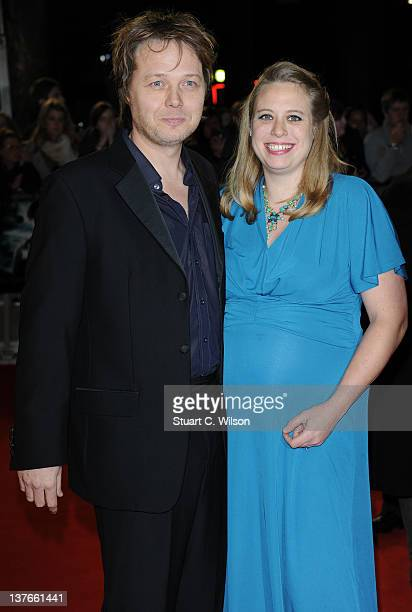 Shaun Dooley and Polly Cameron attend the World Premiere of 'The Woman In Black' at the Royal Festival Hall on January 24 2012 in London England