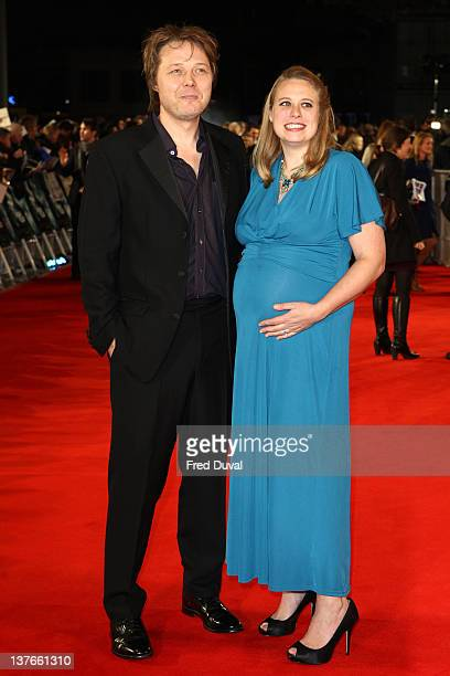 Shaun Dooley and Polly Cameron attend the world premiere of Woman in Black at the Royal Festival Hall on January 24 2012 in London England