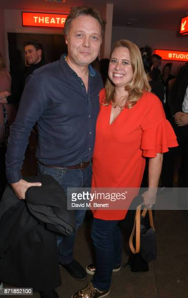 Shaun Dooley and wife Polly Cameron attend the press night after party for Big Fish The Musical at The Other Palace on November 8 2017 in London...