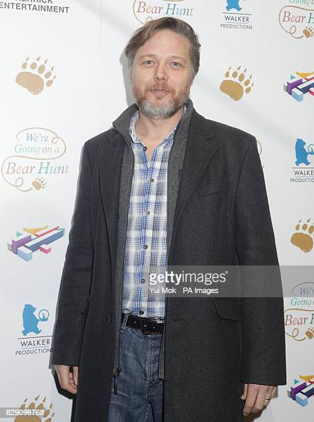 Shaun Dooley attends a screening of We're Going on a Bear Hunt at the Empire Leicester Square in central London