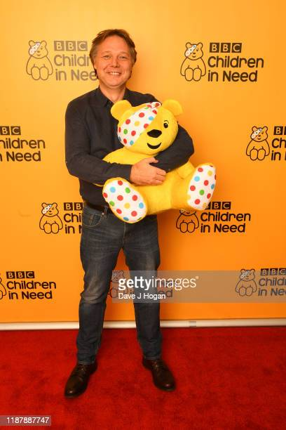 Shaun Dooley backstage at BBC Children in Need's 2019 Appeal night at Elstree Studios on November 15 2019 in Borehamwood England