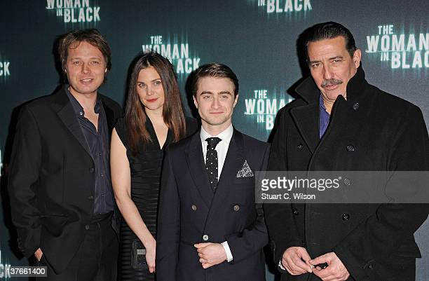 Shaun Dooley Liz White Daniel Radcliffe and Ciaran Hinds attend the World Premiere of 'The Woman In Black' at the Royal Festival Hall on January 24...