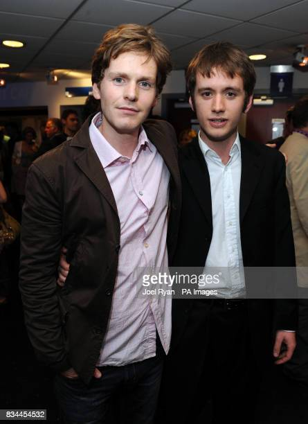 Shaun Evans and Sean Biggerstaff arrive for the VIP Screening of Cashback directed by Sean Ellis at the Odeon Covent Garden in central London