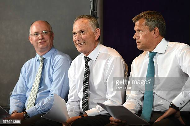 Shaun Harvey Chief Executive of The Football League Richard Scudamore Chief Executive of The Premier League Martin Glenn Chief Executive of The FA...