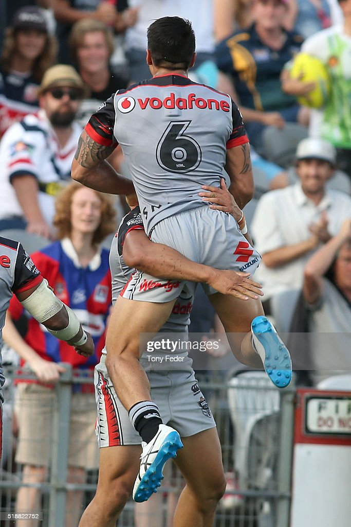 NRL Rd 5 - Roosters v Warriors