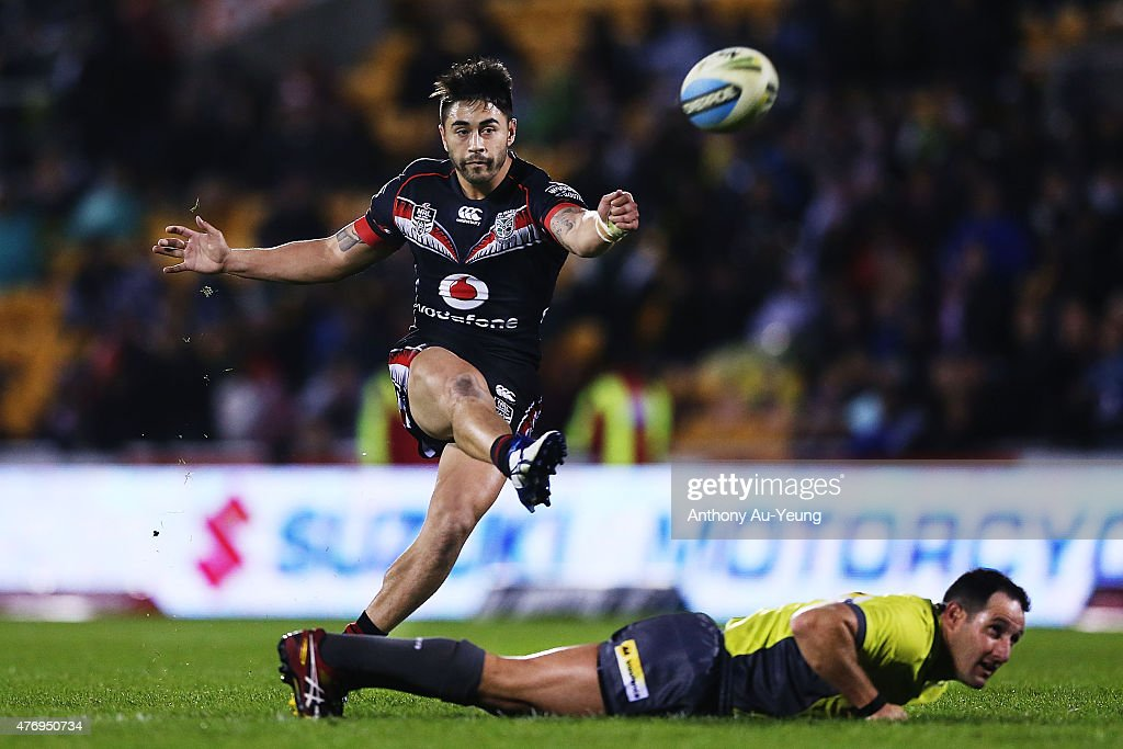 NRL Rd 14 - Warriors v Roosters