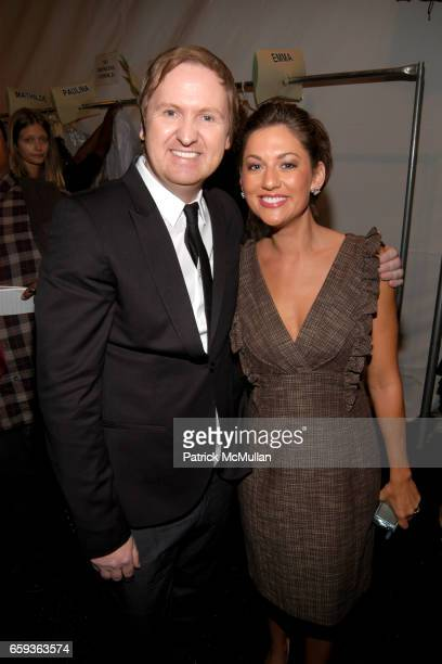Shaun Kearney and Jillian Harris attend CYNTHIA STEFFE Spring 2010 Collection at The Salon on September 11 2009 in New York City