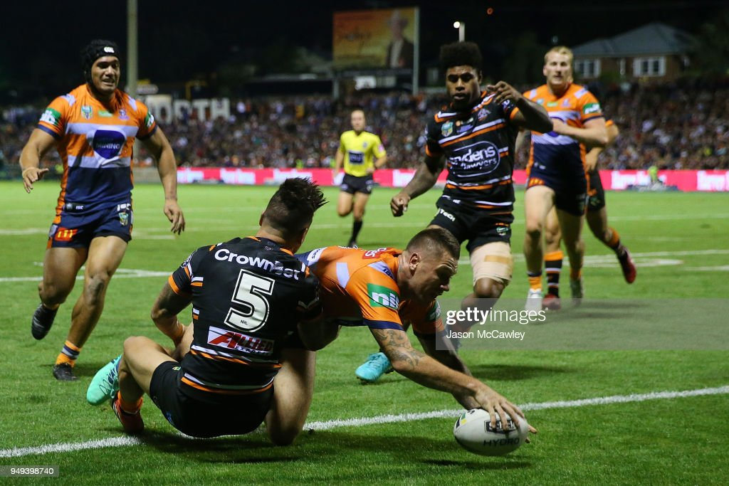 NRL Rd 7 - Tigers v Knights