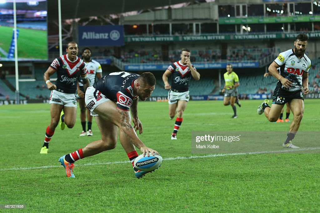 NRL Rd 3 - Roosters v Penrith : News Photo