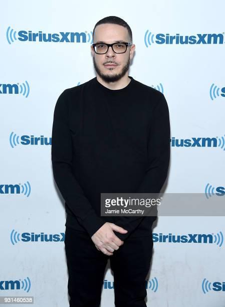 Shaun King visits SiriusXMat SiriusXM Studios on March 13 2018 in New York City