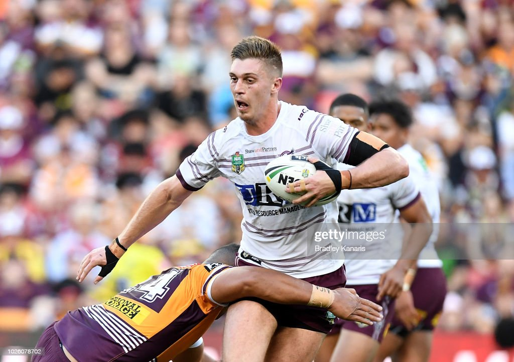 NRL Rd 25 - Broncos v Sea Eagles : News Photo