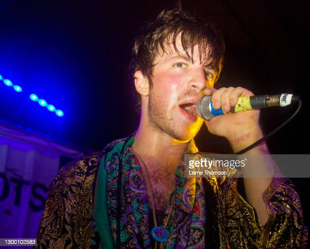 Shaun Libman of Natalie Portman's Shaved Head performs at The Garage on October 16, 2009 in London, England.